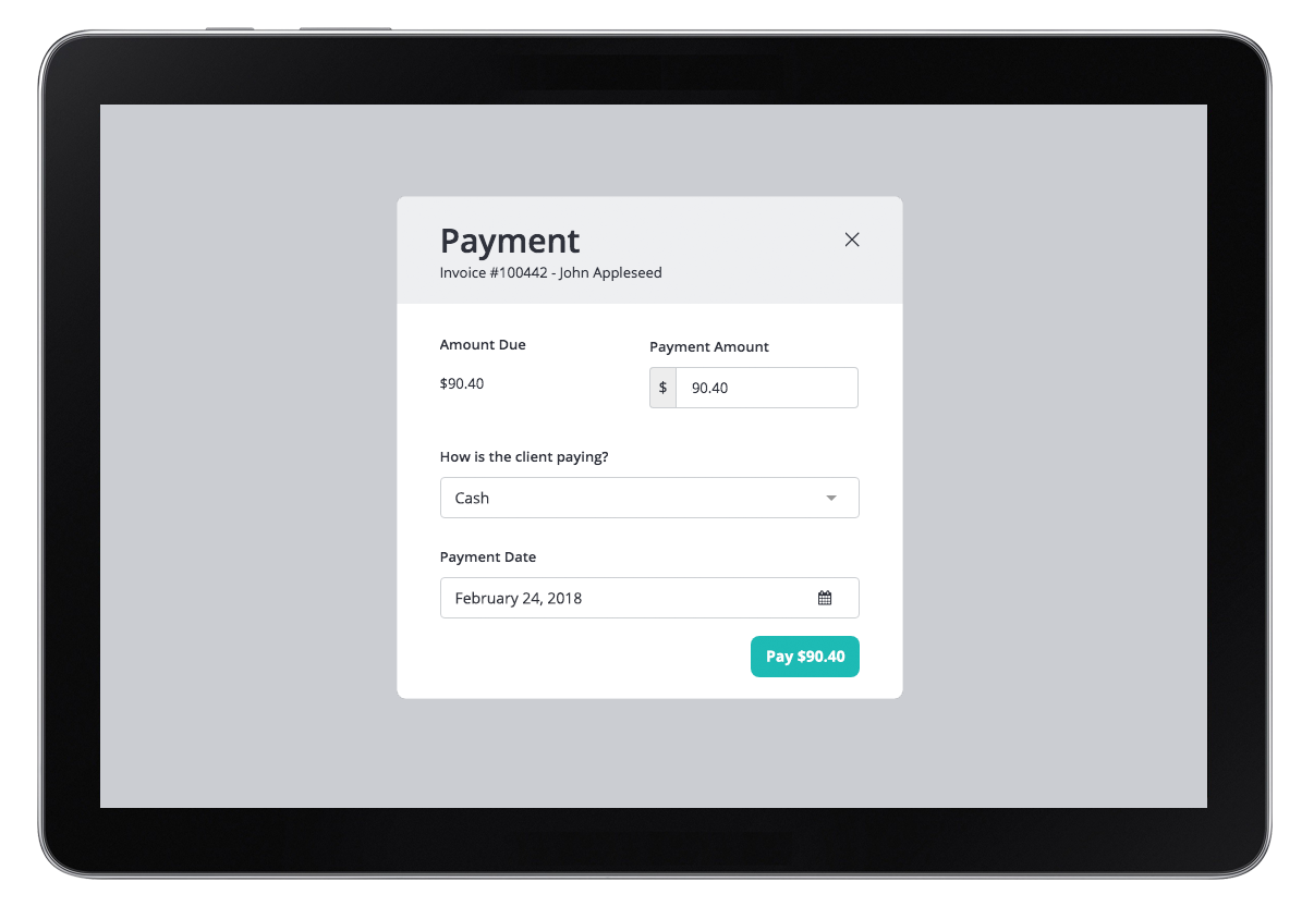 invoicing payments for massage therapists clinicsense